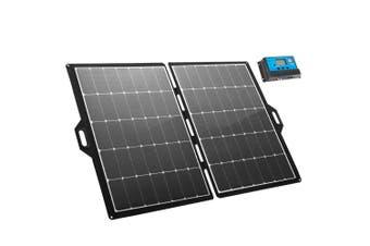 ATEM POWER 12V 250W Folding Solar Panel Blanket Kit Mono Camping Charging Battery