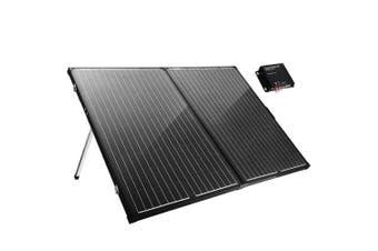 ATEM POWER 300W Folding Solar Panel Kit 12V Caravan Camping Power Mono Charging