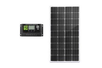 ATEM POWER 12V 200W Solar Panel Kit Mono Caravan Camping Power Battery Home Charging