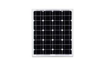 ATEM POWER 60W Solar Panel Kit 12V Mono Generator Caravan Camping Battery Power Charging