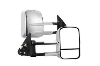 SAN HIMA Pair Towing Mirrors Extendable Nissan Patrol GU Y61 1997-2016