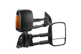 SAN HIMA Towing Mirrors for Ford Ranger MK PX PX2 PX3 XL XLT XLS Wildtrak 2012-ON