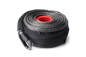 ATEM POWER 10MM x 30M Synthetic Winch Rope Dyneema SK75 Tow Recovery Cable Offroad 4WD