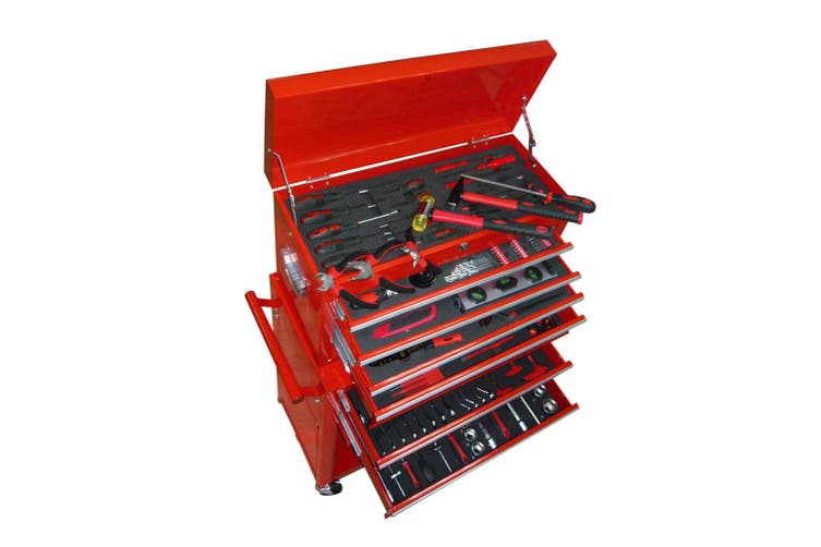 250-piece Tool Chest with 7 Compartments