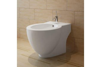 Round Bidet Stand White High-quality Ceramic