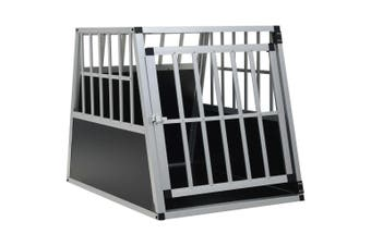Dog Cage with Single Door 65x91x69.5 cm