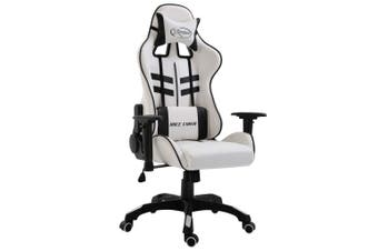 Gaming Chair Black Faux Leather