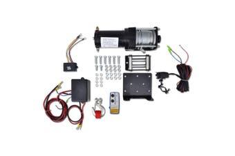 Electric Winch 1360 KG Plate Roller Fairlead Wireless Remote Control