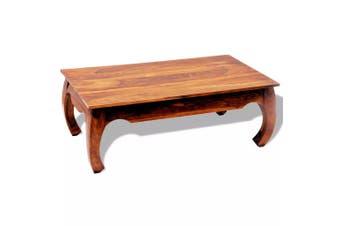 Coffee Table 40 cm Solid Sheesham Wood