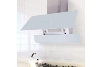 Range Hood with Touch Display White 900 mm