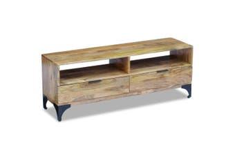 TV Stand Mango Wood 120x35x45 cm