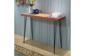 Console Table 90x30x71.5 cm Brown