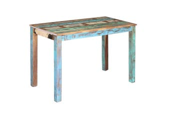Dining Table Solid Reclaimed Wood 115x60x76 cm