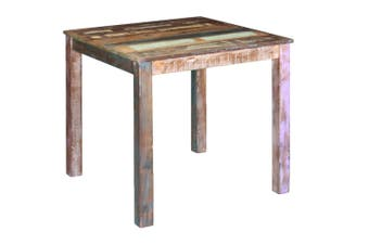 Dining Table Solid Reclaimed Wood 80x82x76 cm