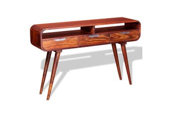 Console Table Solid Sheesham Wood 120x30x75 cm