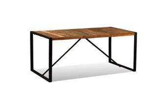 Dining Table Solid Reclaimed Wood 180 cm