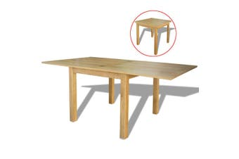 Extendable Table Oak 170x85x75 cm