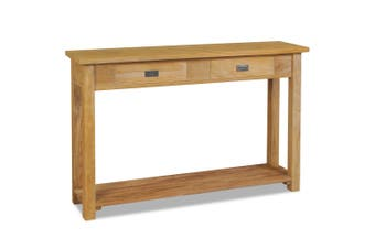 Console Table Solid Teak 120x30x80 cm