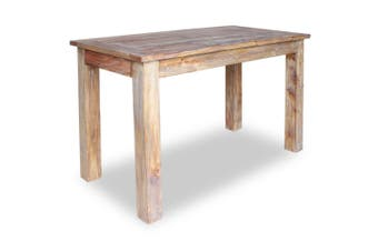 Dining Table Solid Reclaimed Wood 120x60x77 cm