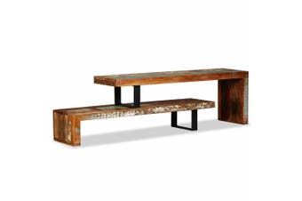 TV Stand Solid Reclaimed Wood