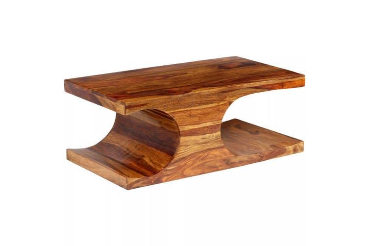 Coffee Table Solid Sheesham Wood 90x50x35 Cm Kogan Com