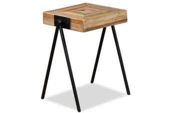 Side Table Solid Reclaimed Teak