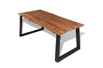 Dining Table Solid Acacia Wood 180x90 cm