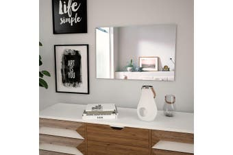 Wall Mirror 60x40 cm Rectangular Glass