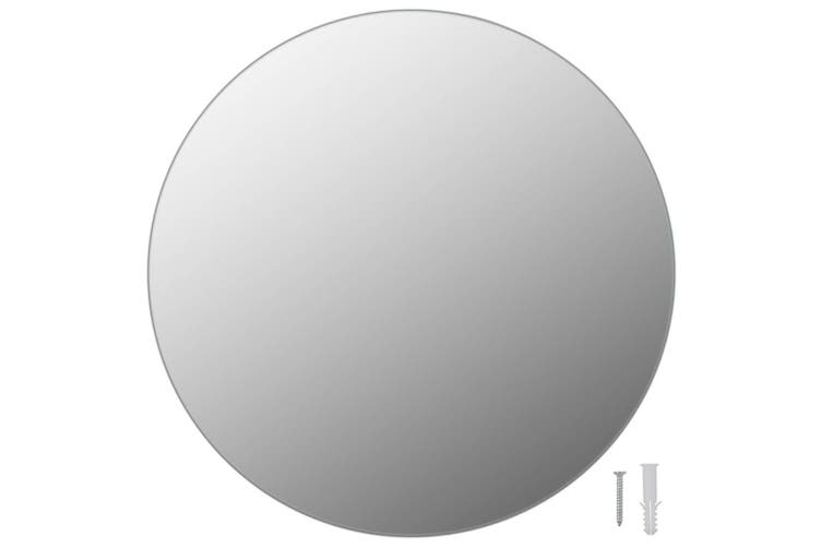 Wall Mirror 40 cm Round Glass