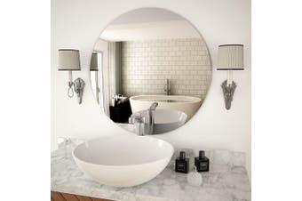 Wall Mirror 70 cm Round Glass
