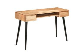 Writing Table Solid Acacia Wood 118x45x76 cm
