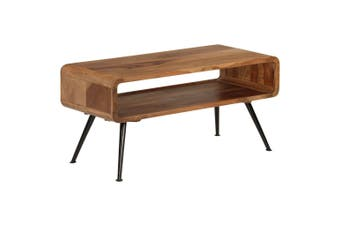 Coffee Table Solid Sheesham Wood 95x40x45 cm