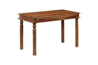Dining Table Solid Sheesham Wood 120x60x77 cm