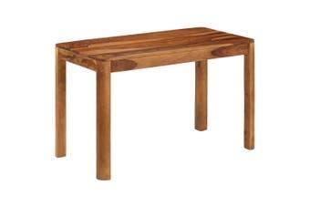 Dining Table Solid Sheesham Wood 120x60x76 cm