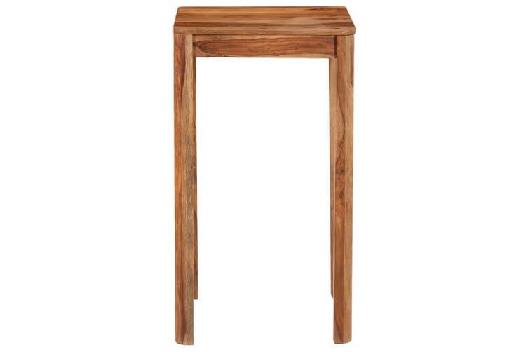 Bar Table Solid Sheesham Wood 60x60x107 cm