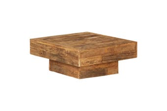Coffee Table Solid Reclaimed Wood 70x70x30 cm