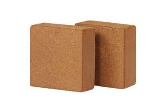Coir Blocks 2 pcs 5 kg 30x30x10 cm