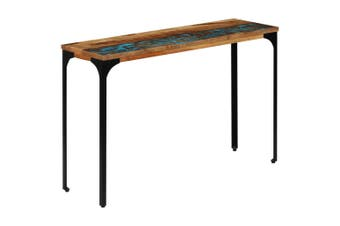 Console Table 120x35x76 cm Solid Reclaimed Wood