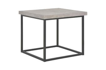 Coffee Table 55x55x53 cm Concrete Look