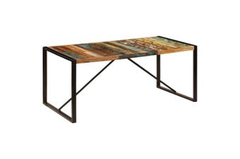 Dining Table 180x90x75 cm Solid Reclaimed Wood
