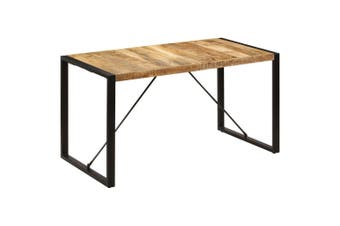 Dining Table 140x70x75 cm Solid Mango Wood