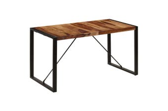 Dining Table 140x70x75 cm Solid Sheesham Wood