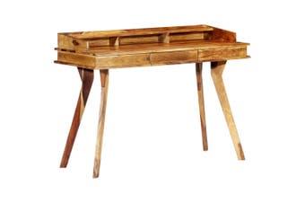 Writing Desk 115x50x85 cm Solid Sheesham Wood
