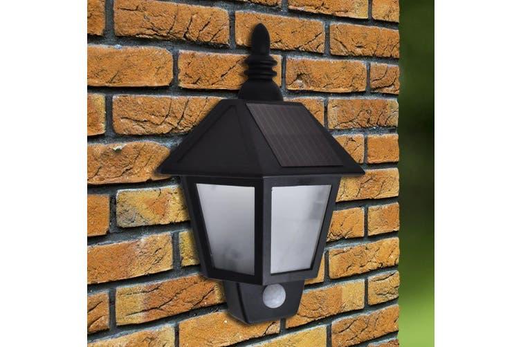 Solar Wall Lamp with Motion Sensor 2 pcs
