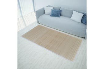 Rectangular Natural Bamboo Rugs 2 pcs 120x180 cm