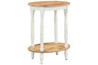 Side Table 50x40x66 cm Solid Acacia Wood