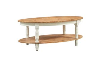 Coffee Table 102x62.5x42 cm Solid Acacia Wood