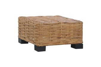 Coffee Table 47x47x28 cm Natural Rattan