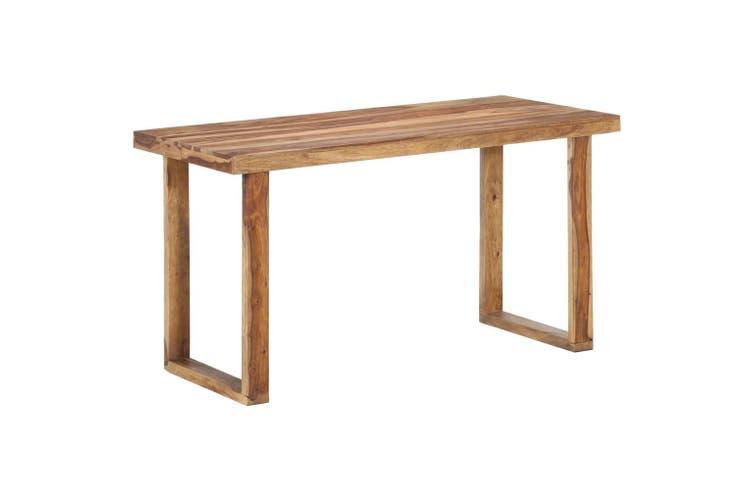 Dining Table 140x70x76 cm Solid Sheesham Wood