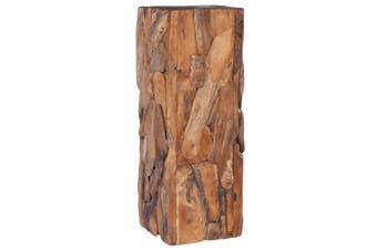 Side Table 30x30x80 cm Solid Teak Wood
